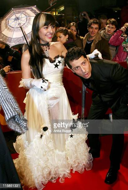 Actress Reyhan Sahin attends the 'Chiko' Premiere as part of the 58th Berlinale Film Festival at the Berlinale Palast on February 9 2008 in Berlin...