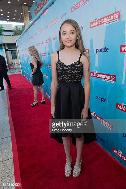 """Actress Reylynn Caster arrives for the Red Carpet Premiere Of Stadium Media's """"The Matchbreaker"""" at the ArcLight Cinemas Cinerama Dome on October 4,..."""