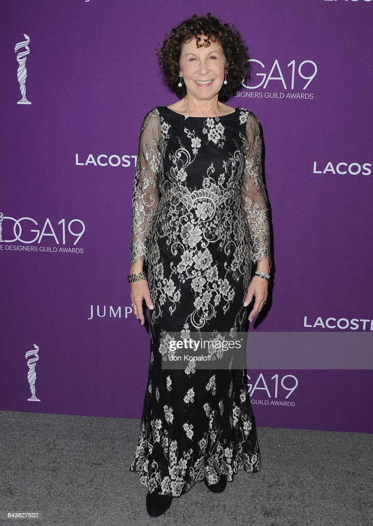 Actress Rhea Perlman arrives at the 19th CDGA (Costume Designers Guild Awards) at The Beverly Hilton Hotel on February 21, 2017 in Beverly Hills, California.