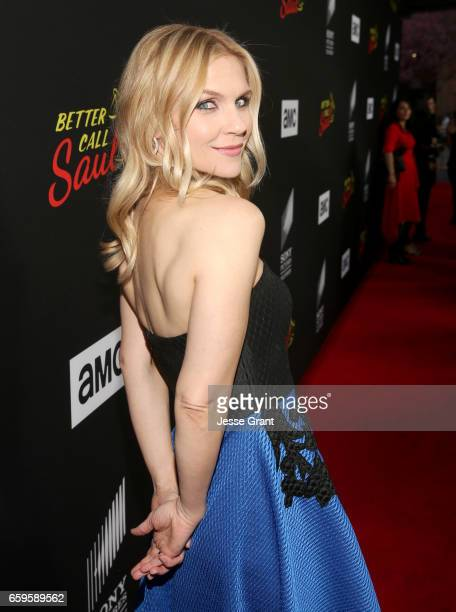 Actress Rhea Seehorn attends AMC's 'Better Call Saul' season 3 premiere at ArcLight Cinemas on March 28 2017 in Culver City California