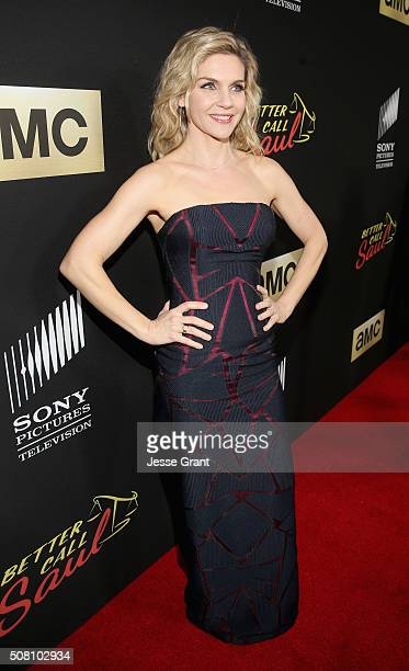 Actress Rhea Seehorn attends Better Call Saul Season 2 Premiere at Arclight Cinemas Culver City on February 2 2016 in Culver City California