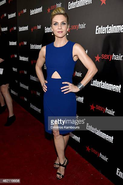 Actress Rhea Seehorn attends Entertainment Weekly's celebration honoring the 2015 SAG awards nominees at Chateau Marmont on January 24 2015 in Los...