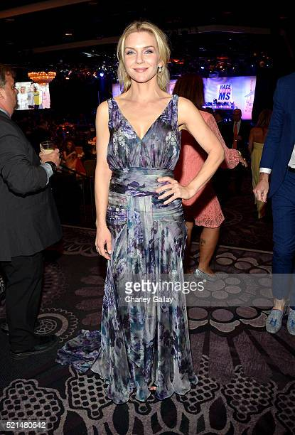 Actress Rhea Seehorn attends the 23rd Annual Race To Erase MS Gala at The Beverly Hilton Hotel on April 15 2016 in Beverly Hills California