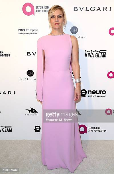 Actress Rhea Seehorn attends the 24th Annual Elton John AIDS Foundation's Oscar Viewing Party on February 28 2016 in West Hollywood California