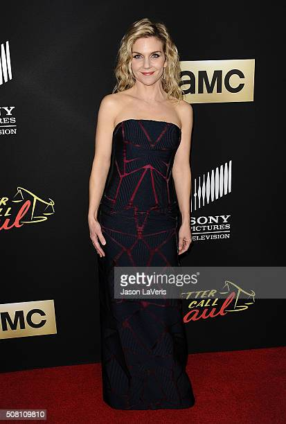 Actress Rhea Seehorn attends the Season 2 premiere of 'Better Call Saul' at ArcLight Cinemas on February 2 2016 in Culver City California