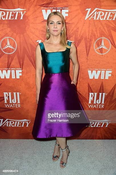 Actress Rhea Seehorn attends the Variety and Women in Film Annual PreEmmy Celebration at Gracias Madre on September 18 2015 in West Hollywood...