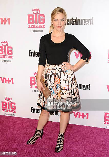 Actress Rhea Seehorn attends the VH1 Big In 2015 with Entertainment Weekly Awards at Pacific Design Center on November 15 2015 in West Hollywood...