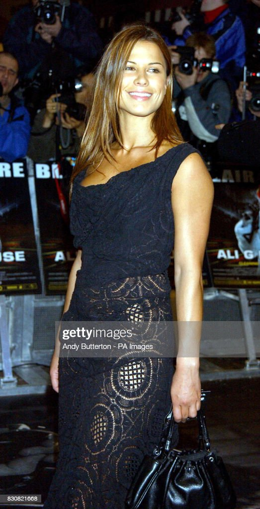 Beautiful Actress Rhona Mitra Arriving At The Empire Cinema In Londonu0027s Leicester  Square For The Premiere Of