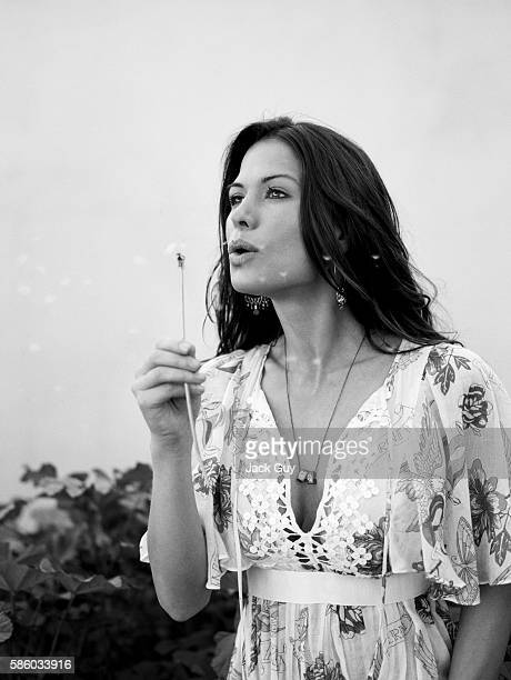 Actress Rhona Mitra is photographed in 2005 in Los Angeles, California.