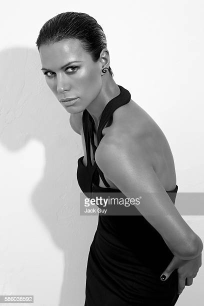 Actress Rhona Mitra is photographed in 2008 PUBLISHED IMAGE