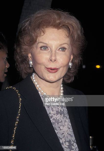 Actress Rhonda Fleming Attends The Premiere Of A Thousand Acres On September 15 1997 At