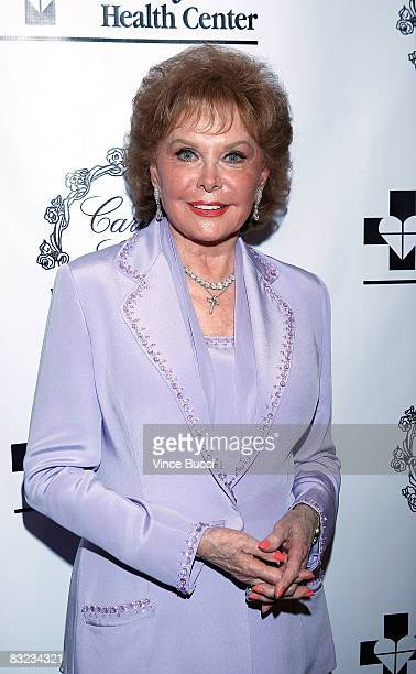 Actress Rhonda Fleming Carlson attends the 2008 Caritas Gala hosted by the Irene Dunne Guild and Saint John's Health Center on October 11, 2008 in...