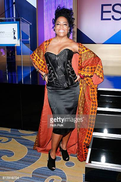 Actress Rhonda Ross Kendrick attends the 2016 ESSENCE Black Women In Hollywood awards luncheon at the Beverly Wilshire Four Seasons Hotel on February...