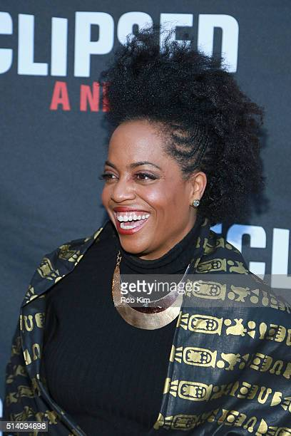 Actress Rhonda Ross Kendrick attends the Eclipsed broadway opening night at The Golden Theatre on March 6 2016 in New York City