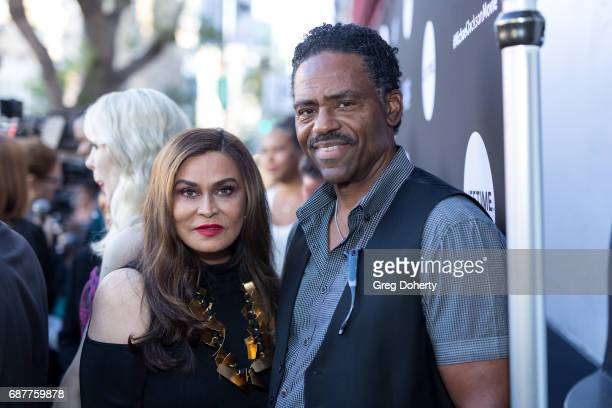 """Actress Richard Larson and Tana Knowles arrive at the Lifetime Hosts Fan Gala And Advance Screening For """"Michael Jackson: Searching For Neverland"""" at..."""