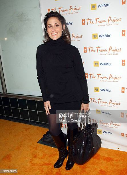 Actress Ricki Lake arrives at Cracked Xmas 10 to benefit The Trevor Project at the Wiltern Theater on December 2 2007 in Los Angeles California