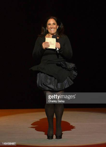 Actress Ricki Lake attends the 2nd Annual Dizzy Feet Foundation's Celebration of Dance Gala at Dorothy Chandler Pavilion on July 28 2012 in Los...