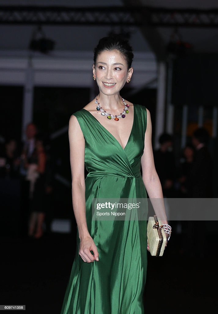Rie Miyazawa Attends Opening Party In Tokyo : News Photo