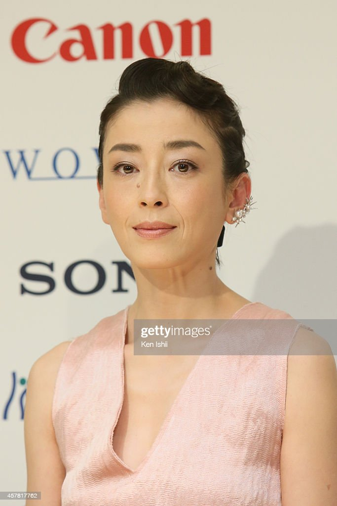 """""""Pale Moon"""" - Press Conference - The 27th Tokyo International Film Festival : News Photo"""