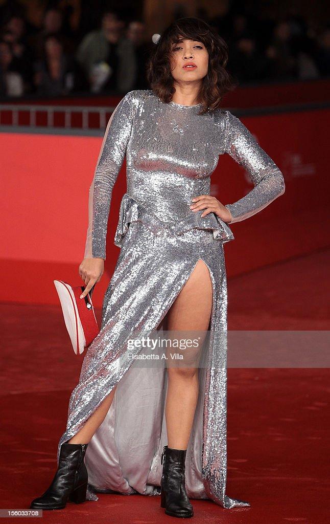 Actress Rii Send attends 'Tasher Desh' Premiere during the 7th Rome Film Festival at Auditorium Parco Della Musica on November 11, 2012 in Rome, Italy.