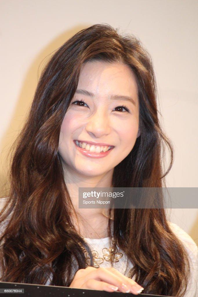 Rika Adachi Attends PR Event In Tokyo : News Photo