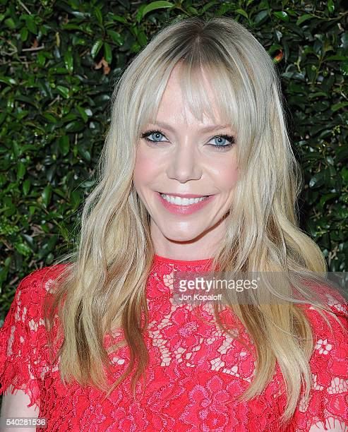 Actress Riki Lindhome arrives at Max Mara Celebrates Natalie DormerThe 2016 Women In Film Max Mara Face Of The Future at Chateau Marmont on June 14...