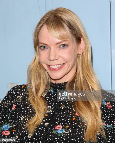 Actress Riki Lindhome attends the screening of A24's 'Eighth Grade' at Le Conte Middle School on July 11 2018 in Los Angeles California