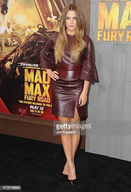 Actress Riley Keough arrives at the Los Angeles Premiere 'Mad Max Fury Road' at TCL Chinese Theatre IMAX on May 7 2015 in Hollywood California
