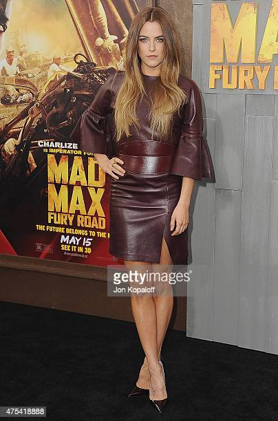 Actress Riley Keough arrives at the Los Angeles Premiere Mad Max Fury Road at TCL Chinese Theatre IMAX on May 7 2015 in Hollywood California
