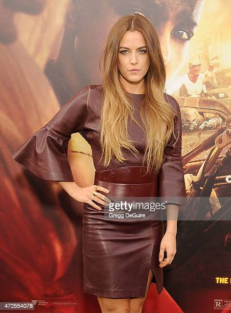Actress Riley Keough arrives at the Los Angeles premiere of Mad Max Fury Road at TCL Chinese Theatre IMAX on May 7 2015 in Hollywood California