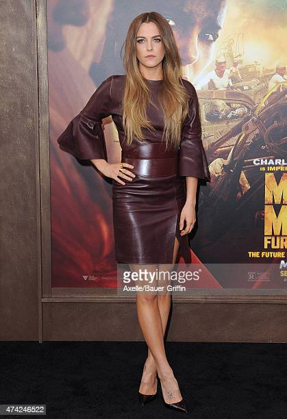 Actress Riley Keough arrives at the Los Angeles premiere of 'Mad Max Fury Road' at TCL Chinese Theatre IMAX on May 7 2015 in Hollywood California
