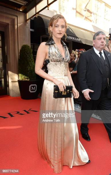 Actress Riley Keough attends as The Mark Hotel celebrates the 2018 Met Gala at The Mark Hotel on May 7 2018 in New York City
