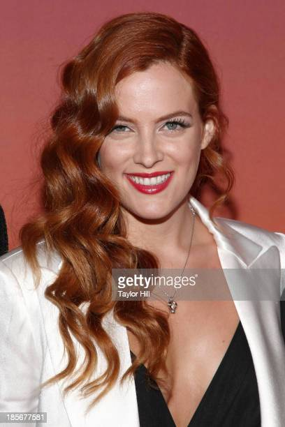 Actress Riley Keough attends the 2013 Whitney Gala and Studio party at Skylight at Moynihan Station on October 23, 2013 in New York City.
