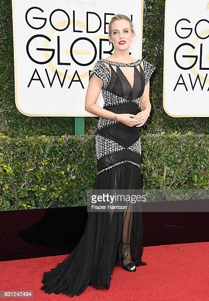 Actress Riley Keough attends the 74th Annual Golden Globe Awards at The Beverly Hilton Hotel on January 8 2017 in Beverly Hills California