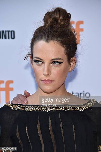 Actress Riley Keough attends the 'American Honey' premiere during the 2016 Toronto International Film Festival at Ryerson Theatre on September 11...