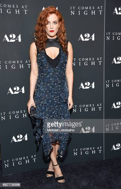 Actress Riley Keough attends the It Comes At Night New York premiere at The Metrograph on June 5 2017 in New York City