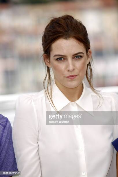 Actress Riley Keough attends the photocall of 'American Honey' during the 69th Annual Cannes Film Festival at Palais des Festivals in Cannes France...