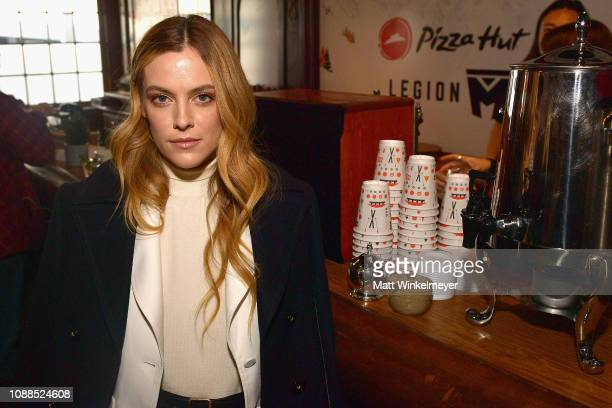 Actress Riley Keough attends the Pizza Hut Lounge at the 2019 Sundance Film Festival in Park City UT