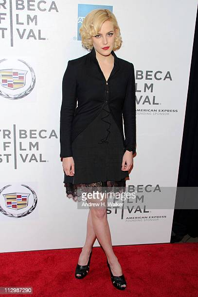 Actress Riley Keough attends the premiere of The Good Doctor during the 2011 Tribeca Film Festival at BMCC Tribeca PAC on April 22 2011 in New York...