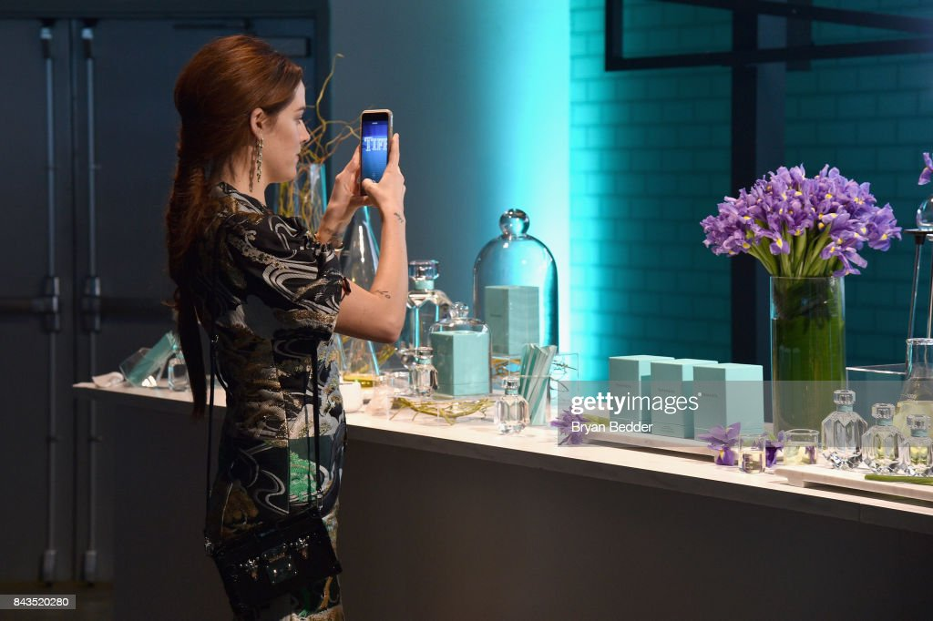 Actress Riley Keough attends the Tiffany & Co. Fragrance launch event on September 6, 2017 in New York City.
