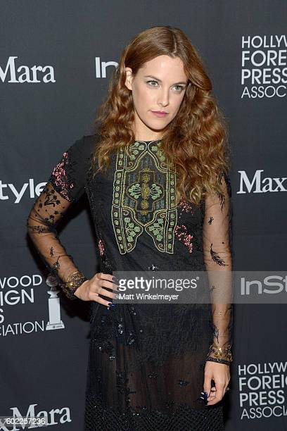 Actress Riley Keough attends the TIFF/InStyle/HFPA Party during the 2016 Toronto International Film Festival at Windsor Arms Hotel on September 10...