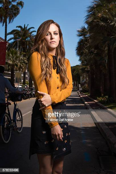 Actress Riley Keough is photographed for Stern Magazine on May 15 2016 in Cannes France