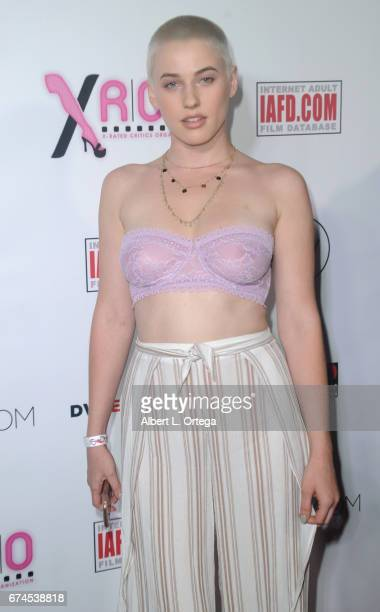 Actress Riley Nixon arrives for the 33rd Annual XRCO Awards Show held at OHM Nightclub on April 27 2017 in Hollywood California