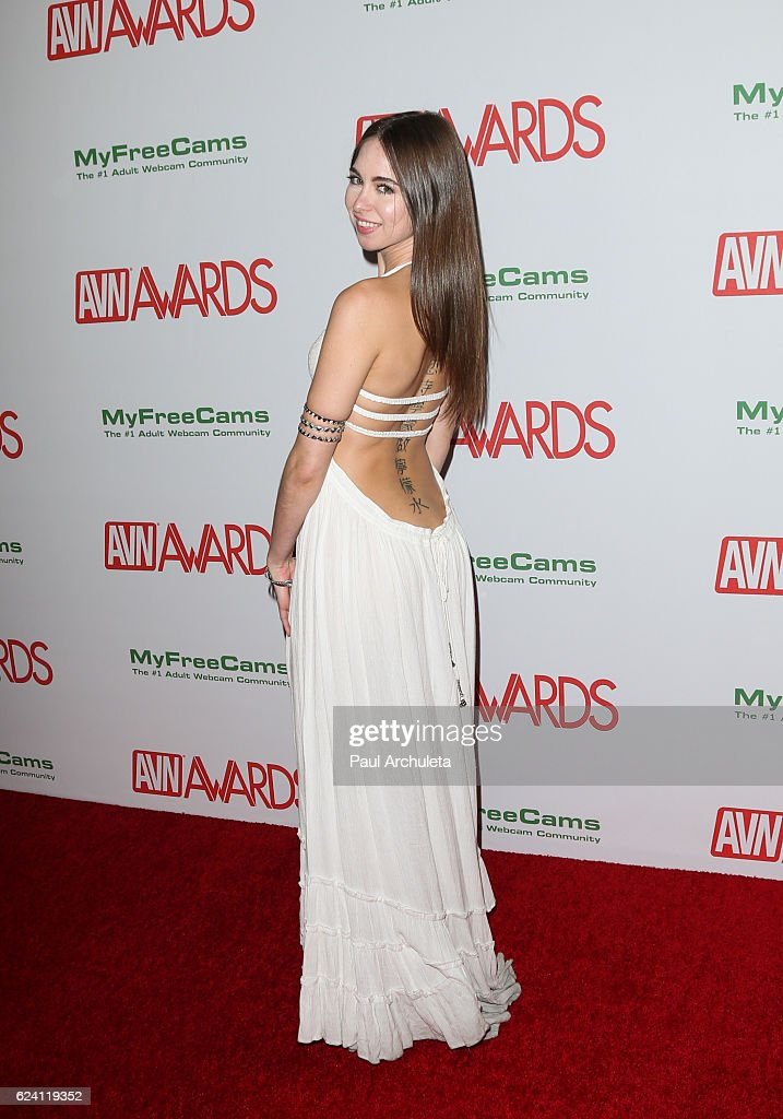 Actress Riley Reid Attends The 2017 AVN Awards Nomination Party At Avalon On November 17