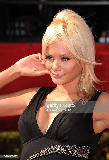 Actress Riley Steele arrives at the 2010 ESPY Awards at Nokia Theatre LA Live on July 14 2010 in Los Angeles California