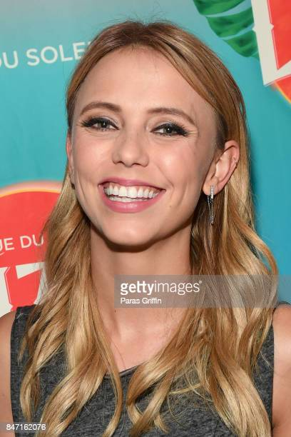 Actress Riley Voelkel attends Atlanta Premiere of Cirque du Soleil's LUZIA A Waking Dream of Mexico at Big Top at Atlantic Station on September 14...