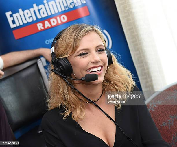 Actress Riley Voelkel attends SiriusXM's Entertainment Weekly Radio Channel Broadcasts From ComicCon 2016 at Hard Rock Hotel San Diego on July 23...