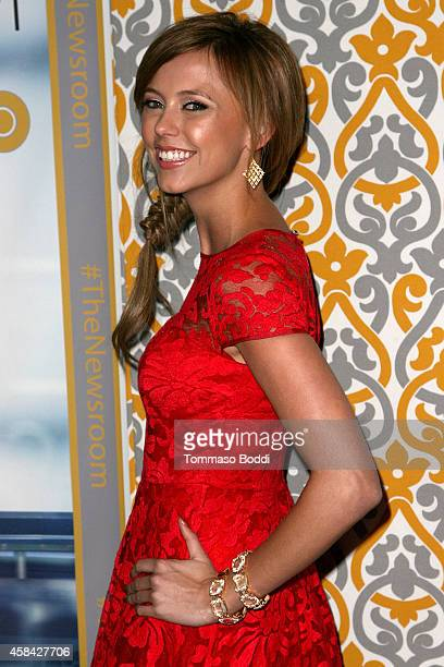 Actress Riley Voelkel attends the Los Angeles season 3 premiere of HBO's series 'The Newsroom' held at the DGA Theater on November 4 2014 in Los...