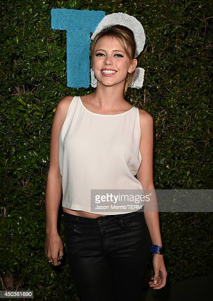 Actress Riley Voelkel attends the TakeTwo E3 Kickoff Party at Cecconi's Restaurant on June 9 2014 in Los Angeles California