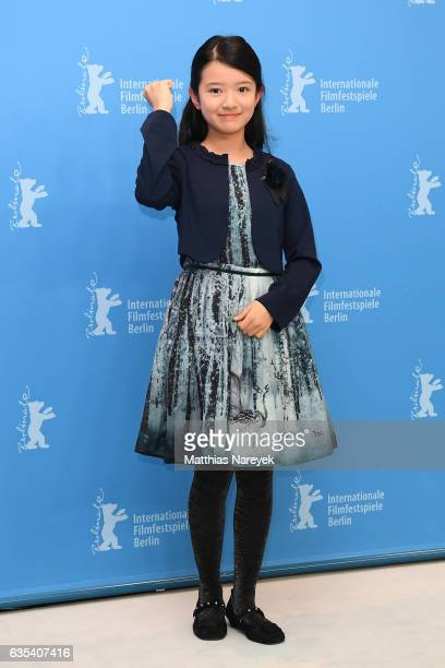 Actress Rinka Kakihara attends the 'CloseKnit' photo call during the 67th Berlinale International Film Festival Berlin at Grand Hyatt Hotel on...